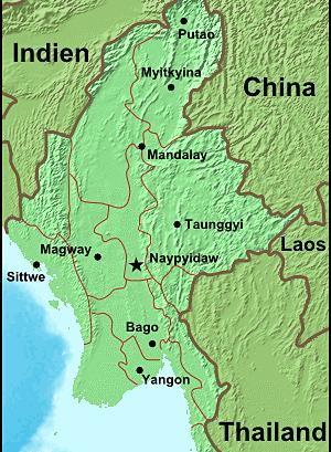 Journalisten helfen Kindern in Myanmar